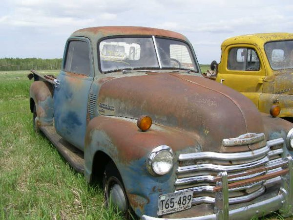 21V: 1950 Chevrolet 3600 series pickup
