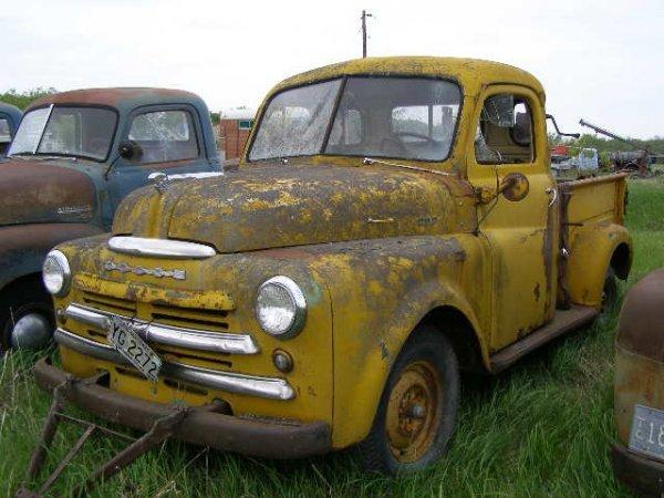 22V: 1948 Dodge 3/4 ton pickup