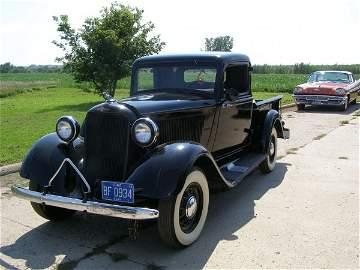 6B:  Beautiful 1934 Dodge Brothers 1/2 ton Pickup