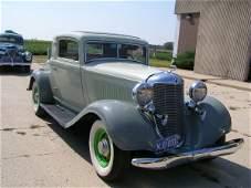 50B: 1933 DeSoto 2dr Suicide Rumble Seat Coupe