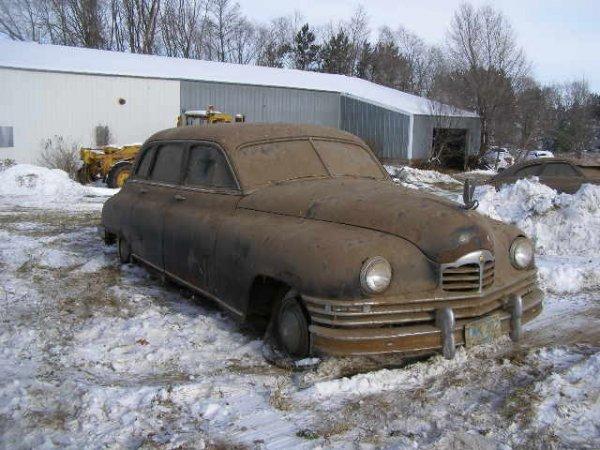 3W: 1949 Packard 4dr Limosine