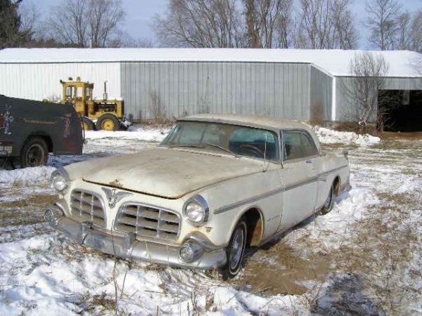 6W: 1955 Chrysler Imperial Crown 2dr Hard top HEMI