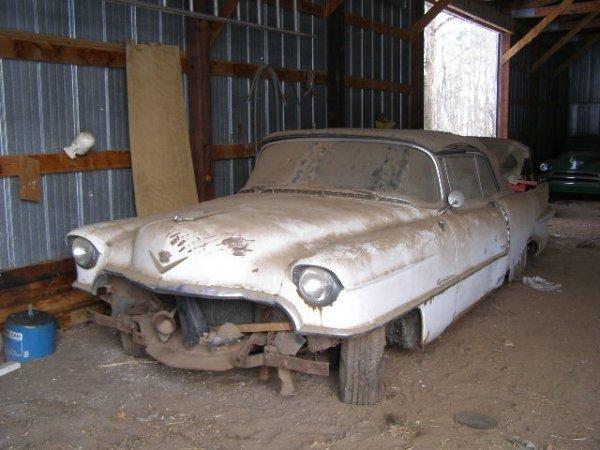 23W: 1955 Cadillac  Eldorado Barritz convertible projec