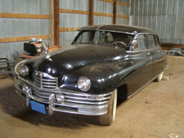 24W: 1949 Packard 7 Passenger Sedan