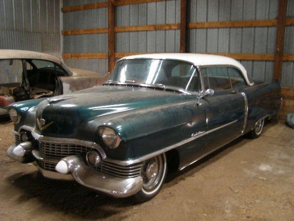 25W: 1954 Cadillac  2dr Coupe DeVille
