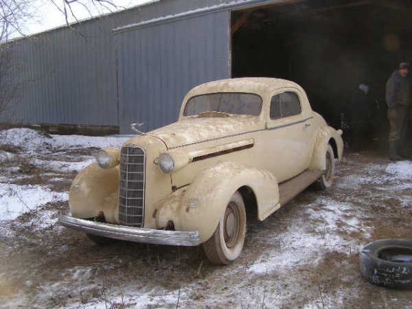 26W: 1936 Lasalle 2dr Coupe Streetrod