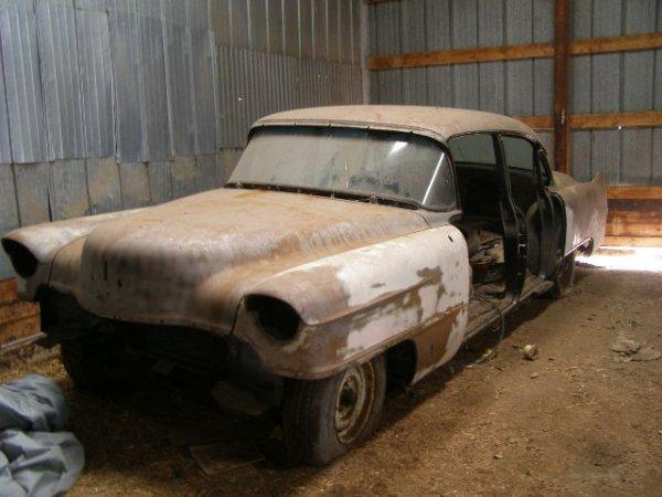 27W: 1954 Cadillac  4dr Sedan project