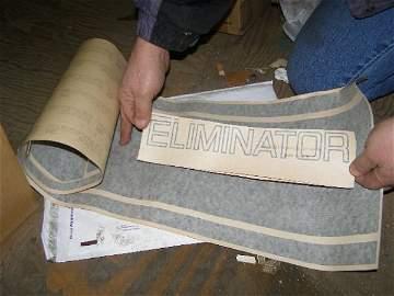 12M: Rare  NOS Mercury Cougar Eliminator Decal Kit.
