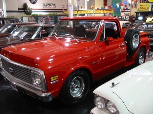 1E: 1971 Chevrolet  C10 Stepside Shortbox 2WD Pickup