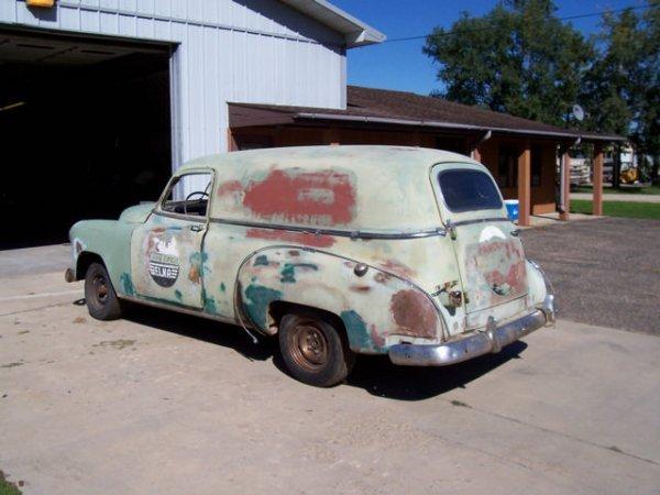 5B: 1951 Chevrolet  2dr Sedan Delivery panel