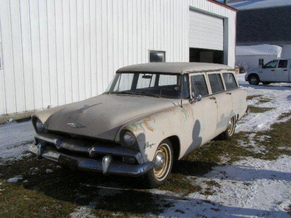 8B: 1955 Plymouth Plaza 4dr Wagon