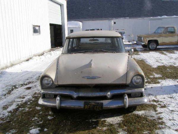 8B: 1955 Plymouth Plaza 4dr Wagon - 2