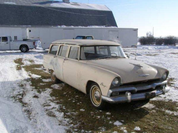 8B: 1955 Plymouth Plaza 4dr Wagon - 3
