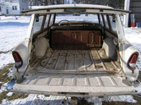 8B: 1955 Plymouth Plaza 4dr Wagon - 5