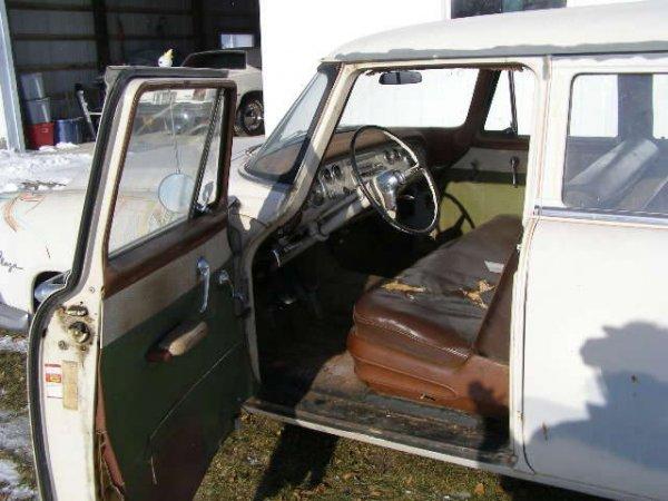 8B: 1955 Plymouth Plaza 4dr Wagon - 6