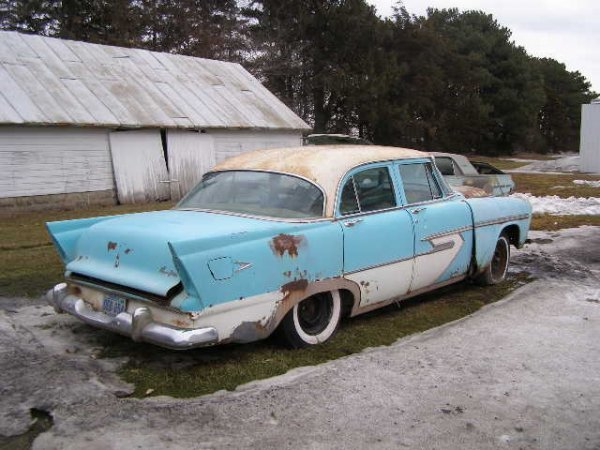 11B: 1956 Plymouth Belvedere 4dr Sedan