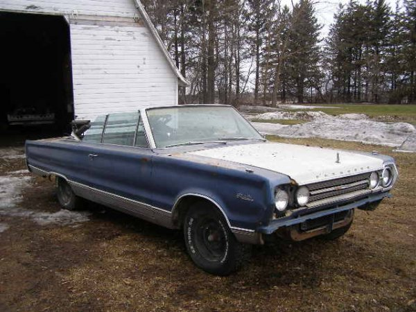 18B: 1967 Plymouth Satellite Convertible