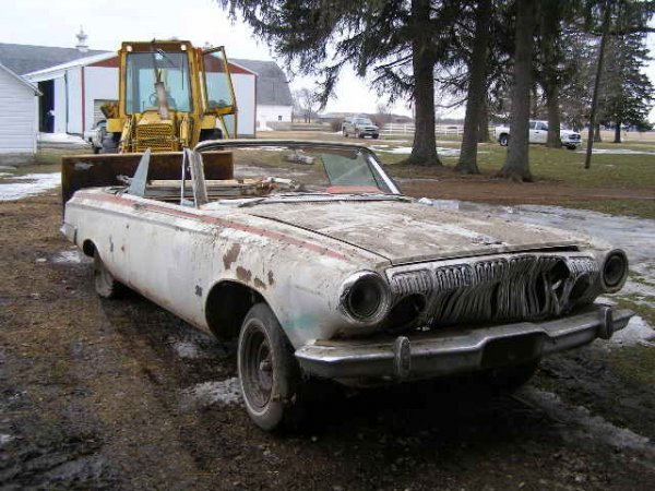 20B: 1963 Dodge  Polara Convertible Project Car