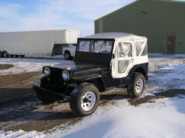 21G: 1947 Willys Jeep CJ2A  4x4