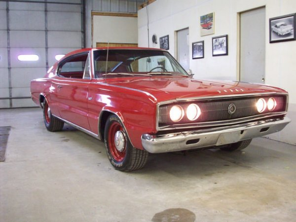 23G: 1966 Dodge  440 Charger 2dr Fastback Coupe
