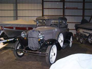 31G: 1929 Ford Model A 5 window Rumble Seat Coupe