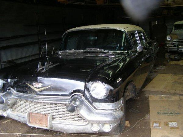 1J: 1957 Cadillac 4dr Limosine