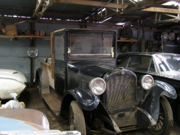 7J: 1920's-1930's  Grahamn  4dr Sedan Pickup conversion