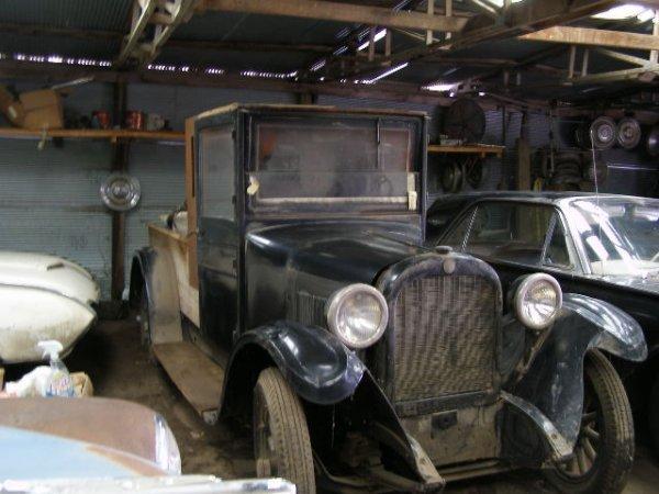 7J: 1920's-1930's  Grahamn  4dr Sedan Pickup conversion