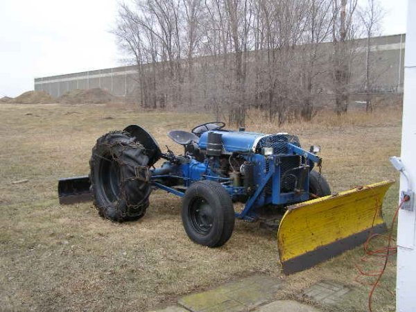 14J: Ford N series Tractor