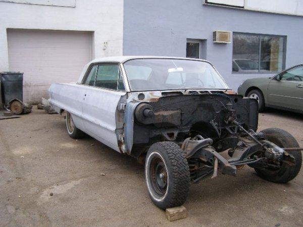 3F: 1963 Chevrolet Impala 2dr HT