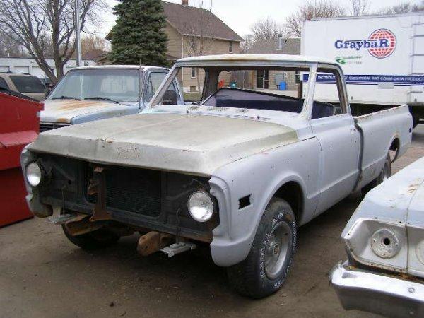 5F: 1969 Chevrolet 1/2 ton Pickup