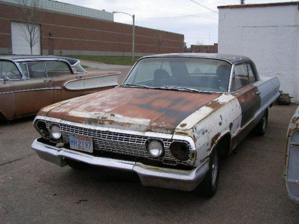 6F: 1963 Chevrolet Impala 2dr HT