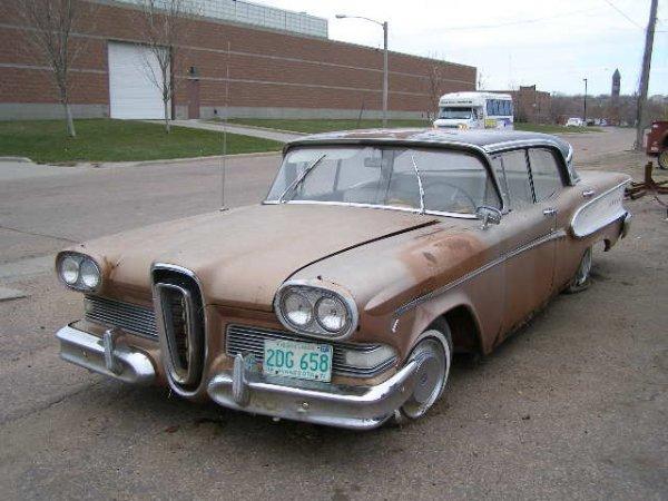 7F: 1958 Edsel