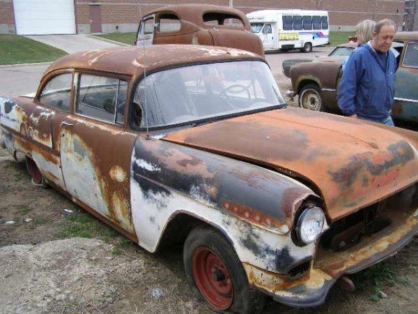 9F: 1955 Chevrolet 2dr Sedan