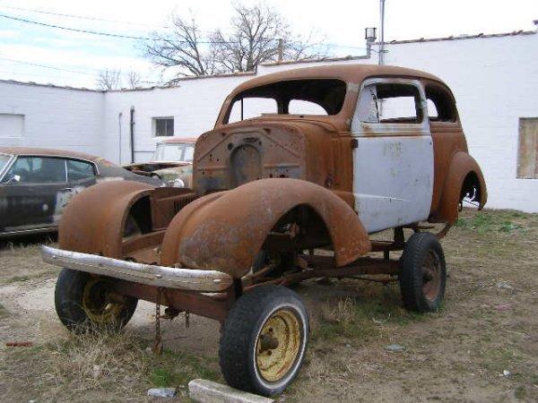 10F: 1938 Chevrolet 2dr Sedan Shell