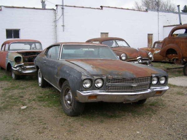 13F: 1970 Chevrolet malibu/chevelle