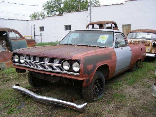 22F: 1965 Chevrolet El Camino