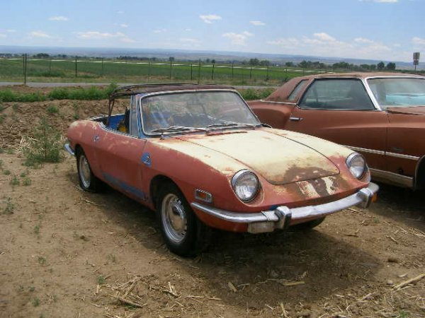 1T: 1970 FIAT Sport 850 coupe convertible