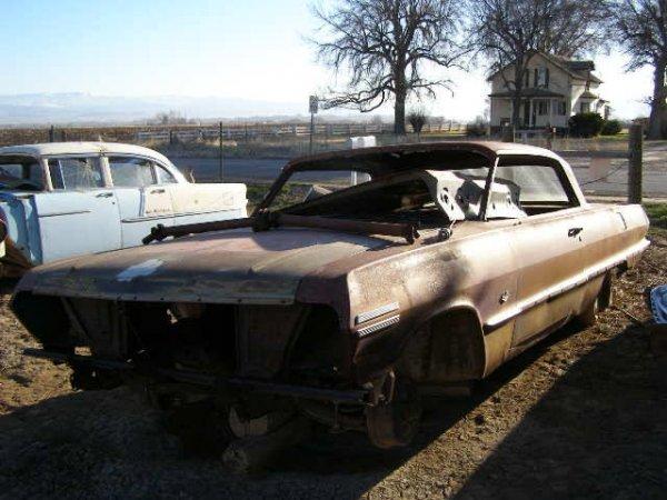 4M: 1963 Chevrolet Impala 2dr Hard Top