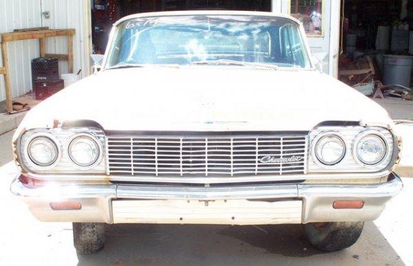 6M: 1964 Chevrolet Impala 2dr Hard Top
