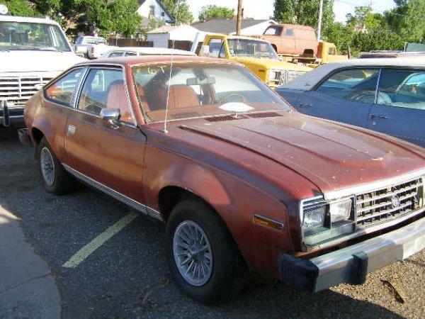 6T: 1980 AMC Spirit 2dr coupe