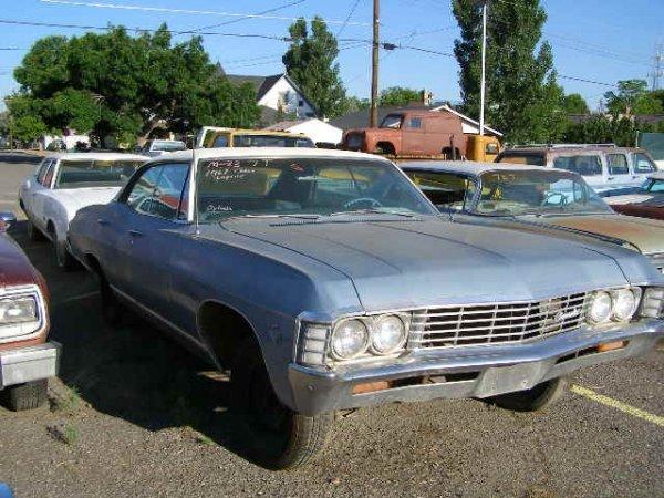 7T: 1967 Chevrolet Caprice 4dr Hardtop