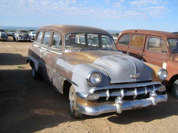 11T: 1954 Chevrolet Belair 4dr Wagon