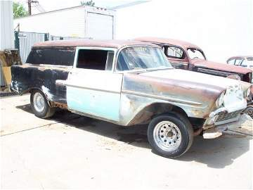 107M: 1956 Chevrolet Sedan Delivery