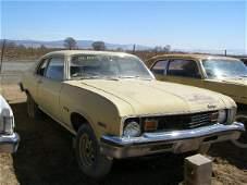 116M: 1973 Chevrolet NOva2dr Hatchback