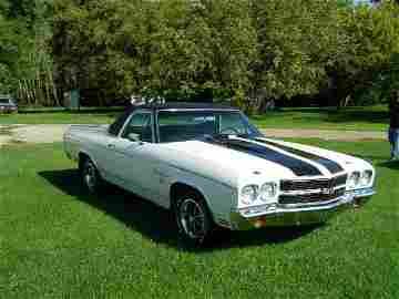2B: 1970 Chevrolet SS 396  El Camino