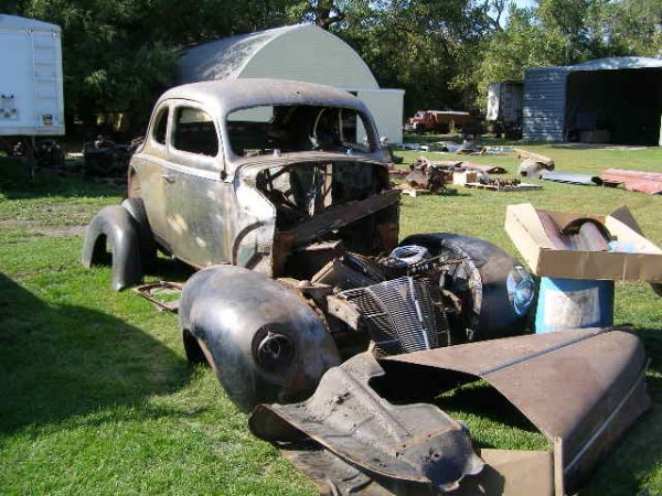 13B: 1940 Ford Coupe project