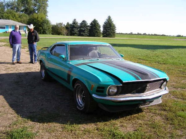 18B: 1970 Ford Boss 302 Mustang Coupe