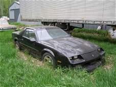 33B 1989 Chevrolet IROC Z28 CAMARO COUPE