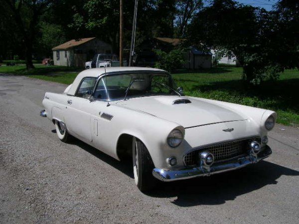 1C: 1956 Ford Thunderbird 2dr Convertible